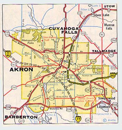 Akron Virtual Roadtrip
