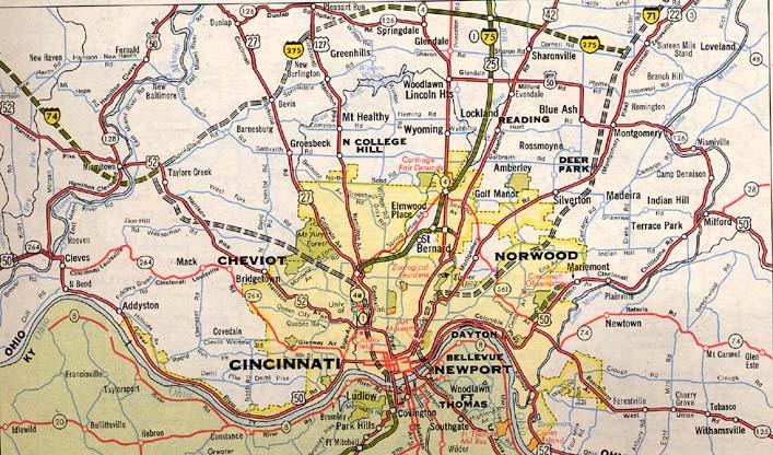 SW Ohio Maps