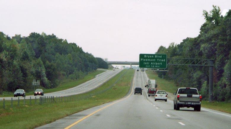 I-73 in North Carolina