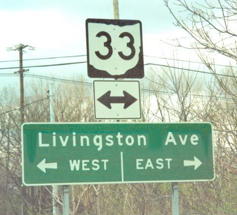 Eastside - Map of us 70 exit 33 in ohio