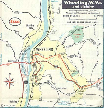 Wheeling Tour